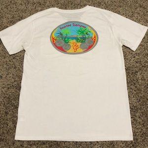 Rowdy Gentlemen Pocket T-Shirt Size Large White